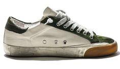 Golden Goose Deluxe Brand Superstar - Green White