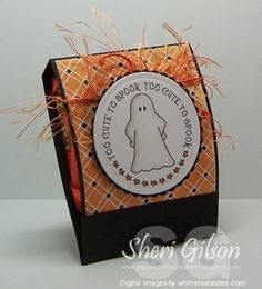Halloween Treat by PaperCrafty - Cards and Paper Crafts at Splitcoaststampers