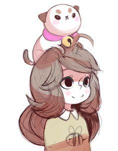 kawaii bee and puppycat