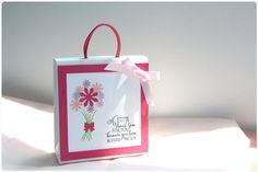 Gift bag Bouquet by SunnyJuneCreations on Etsy