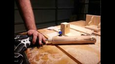 How to make a round tennon using a router