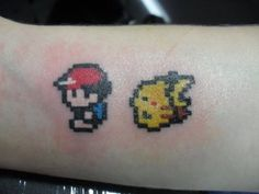 I know it's my destiny! - For the Pure of Heart #tattoos, #pokemon, #tv shows, #video games