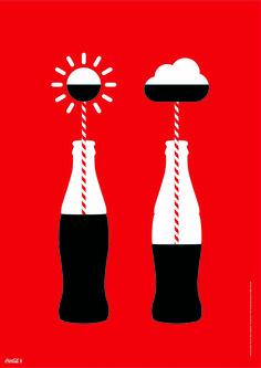 No dejes que el mal tiempo estropee tu semana. #CocaCola
