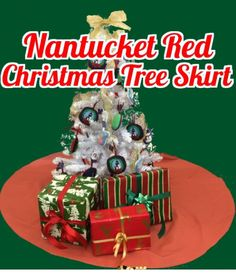 Since it's on Santa's list it should be on your list too! Our handmade #NantucketRed #Christmas skirt is available in store & online at www.NantucketReds.com!   And be sure to alert your Instagram friends to follow us here at @ackreds, our #12DaysofGiveaways starts TOMORROW!