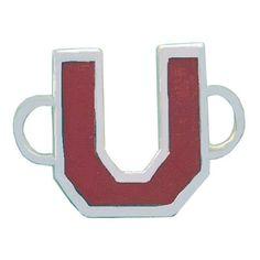 University Crimson Convertible Clasp https://www.goldinart.com/shop/convertible-clasp-bracelets/university-crimson-convertible-clasp #ConvertibleClasps, #SterlingSilver, #UniversityCrimson