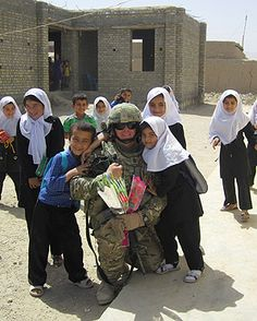 american soldiers with kids - Google Search