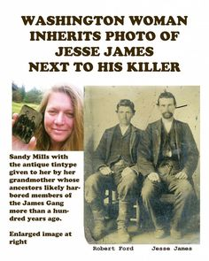 Lost photo of Jesse James, assassin Robert Ford is found, authenticated - Houston Chronicle
