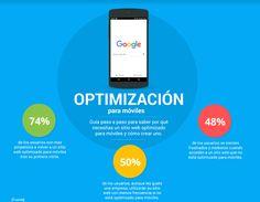 #Consejos de #Google para el #diseño para #móviles