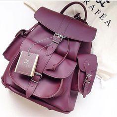 Girly Backpacks, Cute Mini Backpacks, Stylish Backpacks, Leather Backpacks, Leather Bags, Stylish School Bags, Backpack Travel Bag, Accesorios Casual, Girls Bags