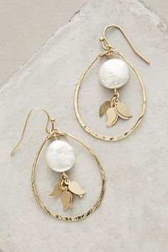 Pearl Flutter Drops #anthropologie #anthrofave