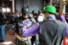 It's the Dark Knight himself! #Batman #Cosplay at #NYCC