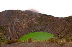 irazu volcano crater bus info - Costa Rica