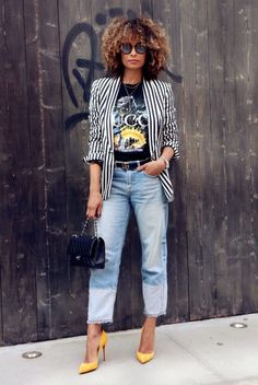 5 Huge Fashion Trends You Will Love In 2019 All-everything, just see what we have prepared for you! More than 40 of the most trendy outfits for this spring. 5 Huge Fashion Trends You Will Love In 2019 Fashion 90s, Fall Fashion Trends, Look Fashion, Denim Fashion, Fashion Beauty, Fashion Outfits, Womens Fashion, Blazer Fashion, Fashion Stores