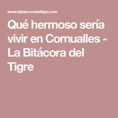 Qué hermoso sería vivir en Cornualles - La Bitácora del Tigre