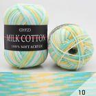 23 Color 50g Knitting Crochet Milk Soft Baby Cotton Wool Yarn Knitwear Handmade