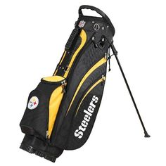 Wilson NFL Pittsburgh Golf Carry Bag