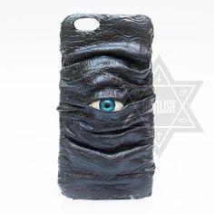 Dark demon eye phone case