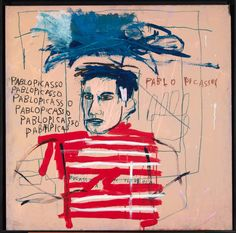 View Untitled Pablo Picasso by Jean-Michel Basquiat on artnet. Browse upcoming and past auction lots by Jean-Michel Basquiat. Jean Michel Basquiat Art, Jm Basquiat, Andy Warhol, Pablo Picasso, Willem De Kooning, Keith Haring, Henri Matisse, Basquiat Paintings, Graffiti
