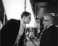 "Leonardo Di Caprio and Martin Scorsese on the set of Aviator / BRIGITTE LACOMBE ""COMPLICITIES"" @ PHILLIPS, NYC"