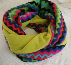 Loop  warm and cosy multicolored /applegreen by MermaidsHatbox