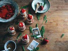 Call me cupcake!: Strawberry cheesecake jars for Now you're cooking