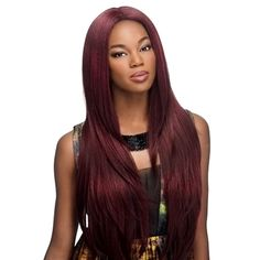 Vivica Fox Synthetic Lace Front Wig Invisible Part Jamie