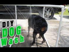 Easy DIY PVC Outdoor Dog Shower | Hometalk