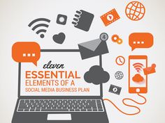 11 essential elements of an effective social media business plan - great post by Rebekah Radice. Online Marketing, Social Media Marketing, Mobile Marketing, Marketing Plan, Marketing Strategies, Inbound Marketing, Social Networks, Content Marketing, Digital Marketing