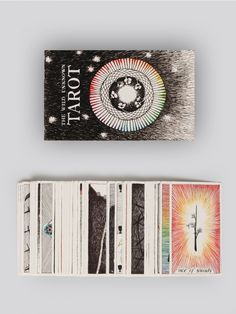 THE WILD UNKNOWN Deck of 78 illustrated tarot cards with a foldout guide of instructions. Perfect for seasoned readers or beginners.