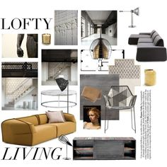 """loft living"" by fabuluz on Polyvore"