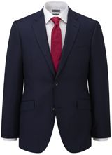 """Contemporary-Fit Blue Micro Birdseye Jacket from """"Austin Reed"""", Purchase on discounted price using coupon codes and promotional codes."""