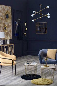 La peinture noire Nuanza est idéale pour décorer ou rénover les murs de toutes les pièces sèches de votre habitation : chambre, salon, bureau, ... Salon Art Deco, Multi Support, Decoration, Entryway Bench, Furniture, Home Decor, Woodwork, Walls, Home Improvement