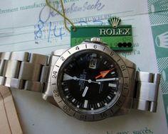 Rolex Explorer Ref. 1655 Orange Hand