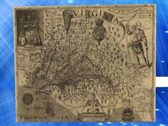 Old Maps - Virginia