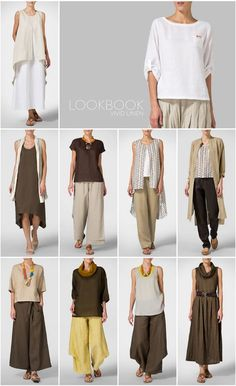 VIVID LINEN clothing - LOOKBOOK