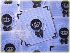 Convite Pequeno Príncipe- Coroa Prata