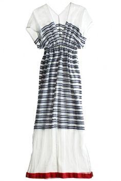 Gauze dress by Calypso St.Barth.