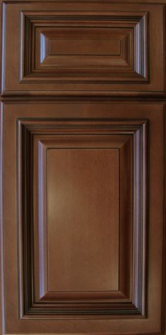Signature Brownstone Cabinet Sample Door