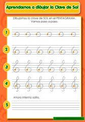 clave de sol para dibujar - Buscar con Google Preschool Music, Music Activities, Writing Activities, Learning Music Notes, Music Education, Writing Portfolio, Music Writing, Music Worksheets, Playing Piano