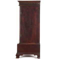 Antiques Expressive An Edward Vii Mahogany And Burr Walnut Wardrobe Good Condition !!!