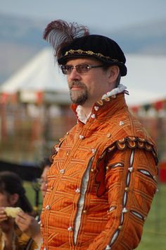 An-Tir May Crown 2012 in Dregate 2878 by Beothuk, via Flickr Orange Doublet, perhaps for reprint to royal court as example of orange doublet?