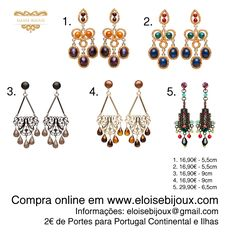Earrings Brincos