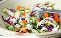 Приготовление салатов из свежих огурцов