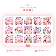 Twitch Streaming Setup, First Youtube Video Ideas, Discord Emotes, Overlays Cute, Doodles, Emoji Stickers, Art Folder, Drawing Expressions, Drawing Reference Poses