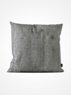 CONCRETE Pillow printed with photo of concrete