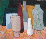 Tove Jansson - NATURE MORTE, 1953, Oil on canvas