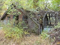 """Greenhouse (circa 1890s - 1910s?) at the Hoyt House (""""The Point"""")"""
