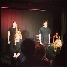 """""""Noget Nyt"""". Devised teater fremført af elever fra Mulernes. #uteater @uteater #scenoskop #mulerneslegatskole #teater #odense"""
