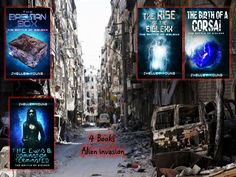4 books. Survivors have nowhere to hide. Earth no longer belongs to humans.