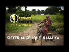 The 2013 winner of UNHCR`s Nansen Refugee Award is Sister Angelique Namaika, a Congolese nun, who works in the remote north east region of D...